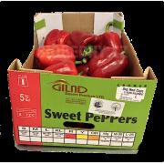 Paprika červená cal. L - Itálie (bedna 5 kg)