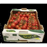 Rajčata Cherry na stonku - DEMETER - Itálie (bedna 3 kg)